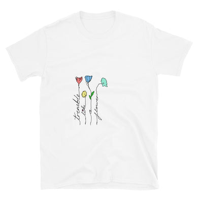Tremble Like a Flower Short-Sleeve Unisex T-Shirt