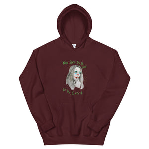 "BILLIE EILISH Halloween special ""You should see me as a clown"" Unisex Hoodie"