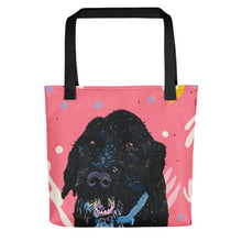 Load image into Gallery viewer, Henry - Cockapoo Pink Dog Tote bag