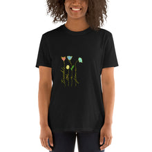 Load image into Gallery viewer, Tremble Like a Flower Gold version Short-Sleeve Unisex T-Shirt