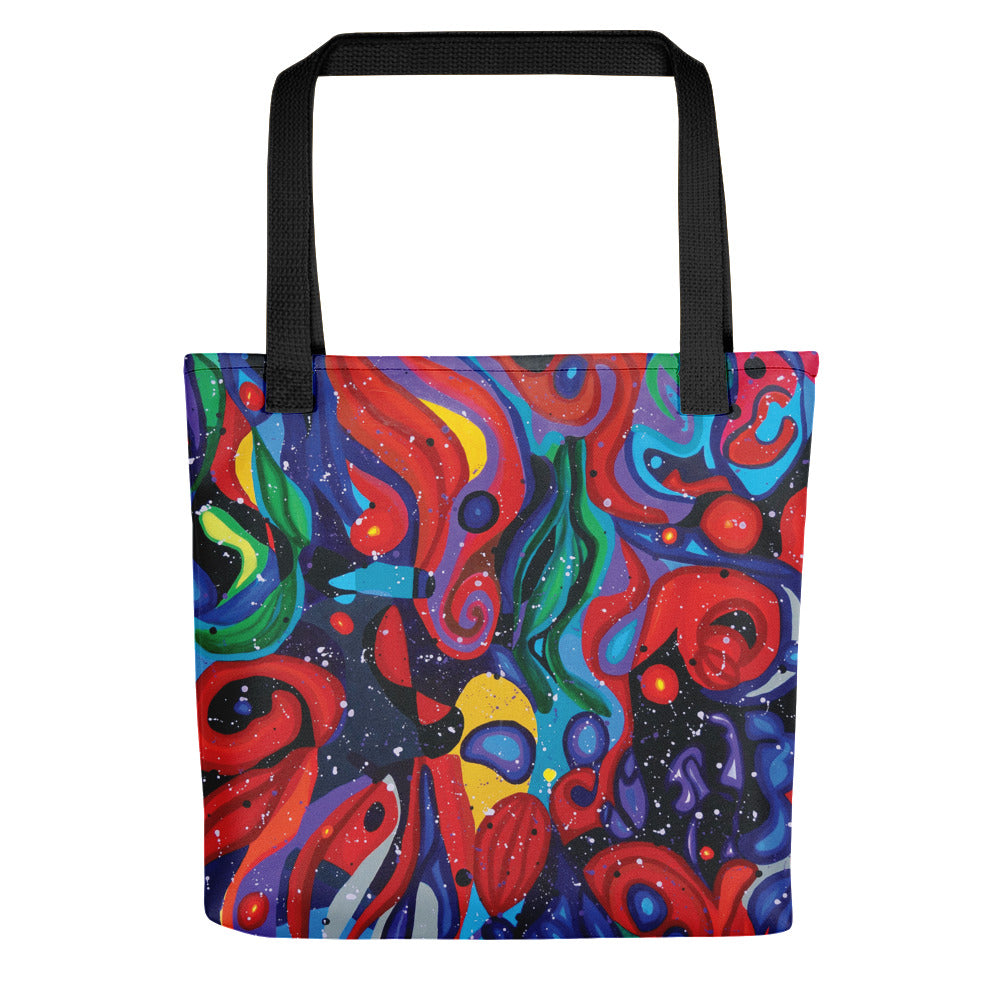 Starry Day Tote bag