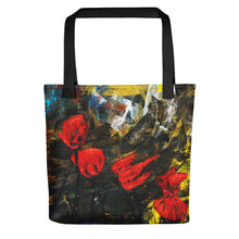 Load image into Gallery viewer, Poppy Storm Tote bag