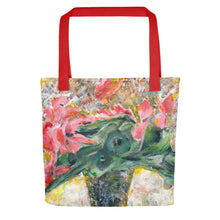 Load image into Gallery viewer, Pink Cyclamen Tote bag
