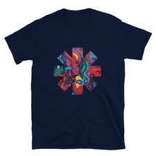 Load image into Gallery viewer, Red Hot Chili Pepper Star  Abstract Red Painting Short-Sleeve Unisex T-Shirt