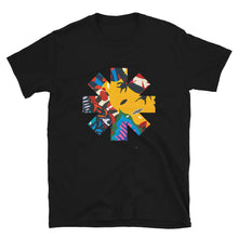 Load image into Gallery viewer, Red Hot Chili Pepper Abstract Yellow Short-Sleeve Unisex T-Shirt