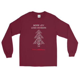 More Joy Less Division This Christmas Long-Sleeve Unisex T-Shirt