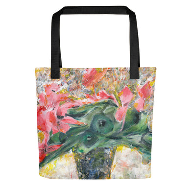 Pink Cyclamen Tote bag