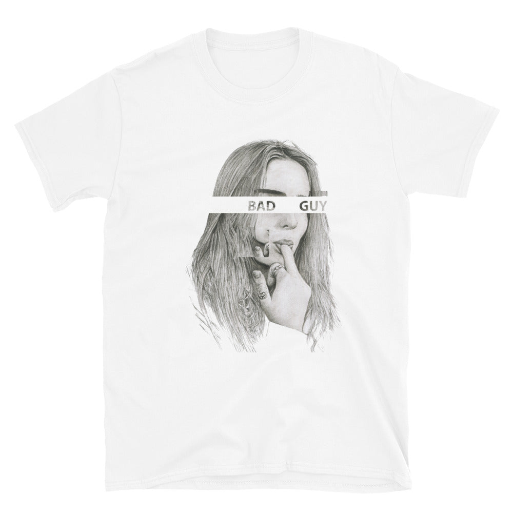 BILLIE EILISH Bad Guy Short Sleeve Unisex T-Shirt