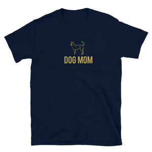 Dog Mom Short-Sleeve Unisex T-Shirt