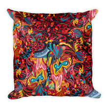 Load image into Gallery viewer, Summer Fruit Patterned Red Single-sided Cushion