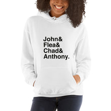 Load image into Gallery viewer, RHCP John & Flea & Chad & Anthony Unisex Hoodie