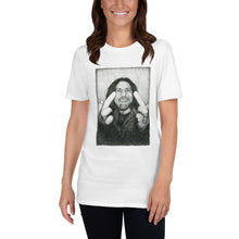Load image into Gallery viewer, Eddie Vedder Middle Finger Short-Sleeve Unisex T-Shirt