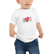 Load image into Gallery viewer, WE R 1 Heart Baby Jersey Short Sleeve Tee