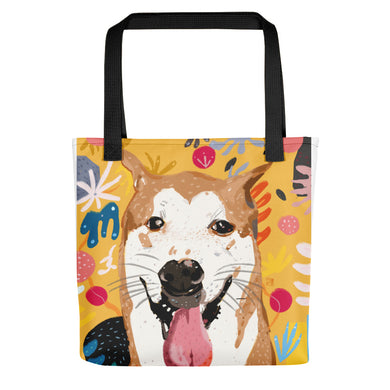 BB - The Artist's Dog Yellow Tote bag
