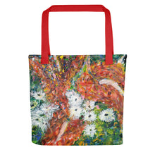 Load image into Gallery viewer, Green Leaves Tote bag