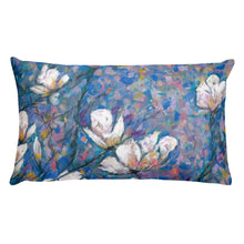 "Load image into Gallery viewer, Flower series double-sided ""Magnolia"" cushion"
