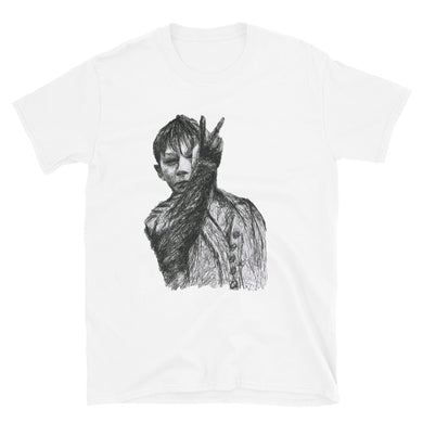 KES Pen Drawing Short-Sleeve Unisex T-Shirt