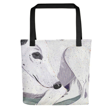 Lady, The Greyhound Dog Tote bag
