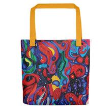 Load image into Gallery viewer, Starry Day Tote bag