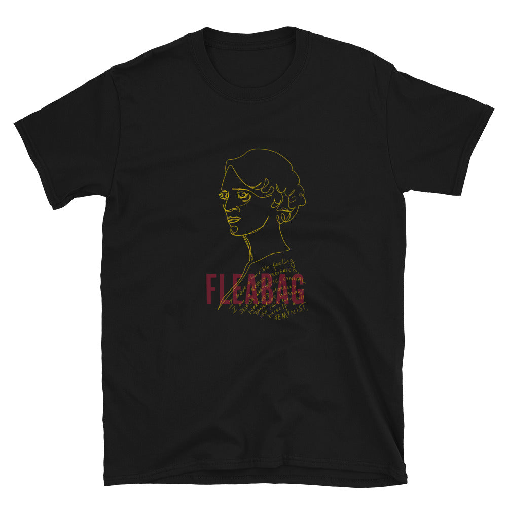 FLEABAG Line Drawing Short-Sleeve Unisex T-Shirt