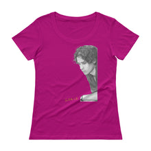 "Load image into Gallery viewer, JEFF BUCKLEY ""Grace"" Ladies' Scoopneck T-Shirt"