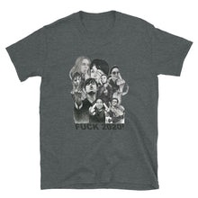 Load image into Gallery viewer, MurkyArt Fuck 2020 Collage of Drawings Short-Sleeve Unisex T-Shirt
