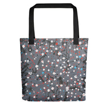 Load image into Gallery viewer, Abstract Grey Tote bag