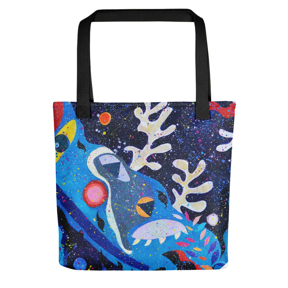 Life - Dust in the Universe Tote bag