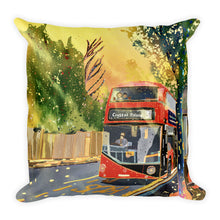 Load image into Gallery viewer, London Routemaster No.3 Bus Single-sided Cushion
