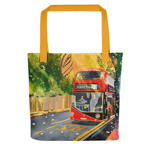 London Routemaster Bus No.3 Tote bag
