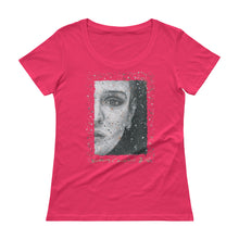 "Load image into Gallery viewer, SINEAD O'CONNOR  ""Nothing Compares 2 U"" Ladies' Scoopneck T-Shirt"