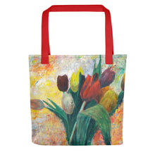 Load image into Gallery viewer, Tulips Tote bag