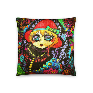 Mirror Girl Single-sided cushion