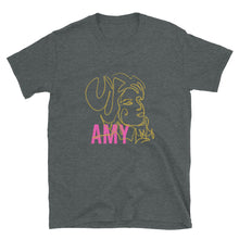 Load image into Gallery viewer, Amy Line Drawing Short-Sleeve Unisex T-Shirt