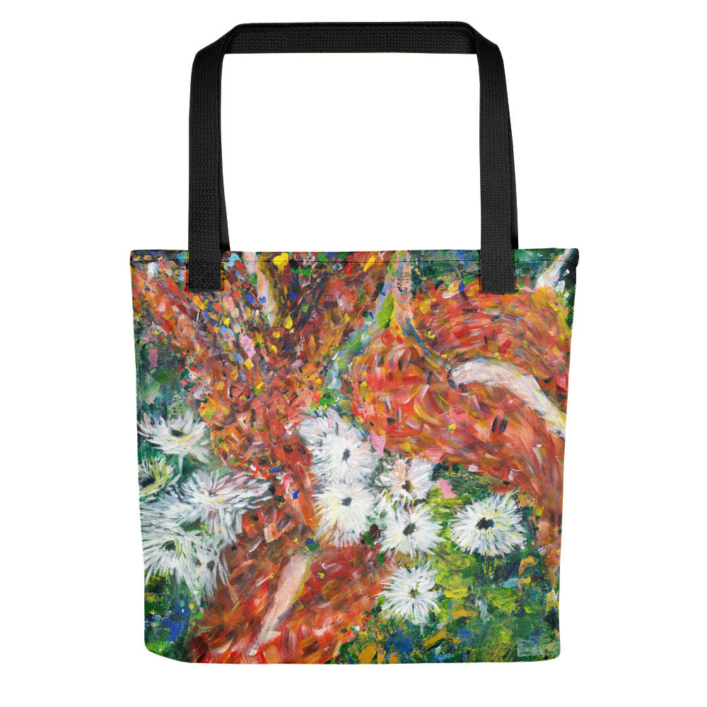 Green Leaves Tote bag