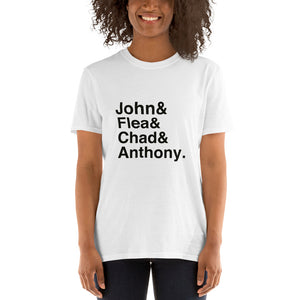 RHCP John Flea Chad & Anthony Short-Sleeve Unisex T-Shirt