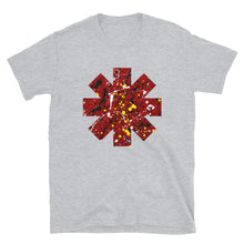 Load image into Gallery viewer, Red Hot Chili Pepper Star Splattered Paint Short-Sleeve Unisex T-Shirt