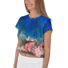 Load image into Gallery viewer, SkyFire All-Over Print Crop Tee