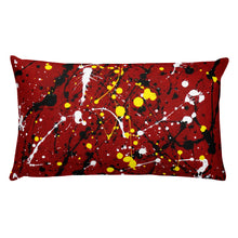 Load image into Gallery viewer, Abstract Red Double-sided cushion