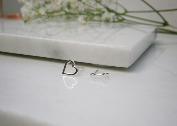 Heart & Arrow Earrings