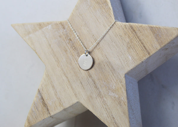 Midi Disc Necklace - Silver