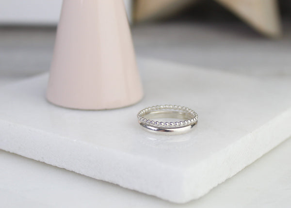 Double Stacking Ring Set