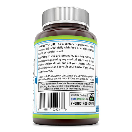 Pure Naturals Rutin 500 Mg Tablets (200 Count) (Non-GMO)- Helps Neutralize Free Radicals* Supports Vascular Health* Aids in Absorption of Vitamin C*