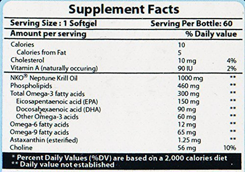 Pure Naturals Neptune Krill Oil  1000 mg, 60 Softgels