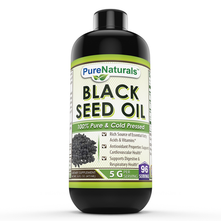 Pure Naturls Black Seed Oil 16 Fl Oz