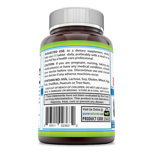 Pure Naturals Choline Bitartrate 650 Mg 180 Tablets