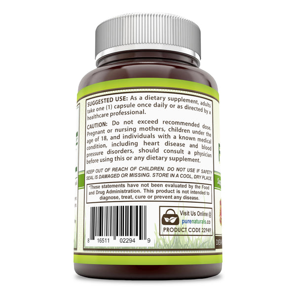 Pure Naturals Forskolin Extract 125 Mg 120 Capsules
