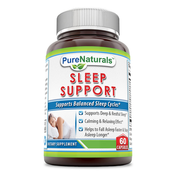 Pure Naturals Sleep Support Formula 60 Capsules