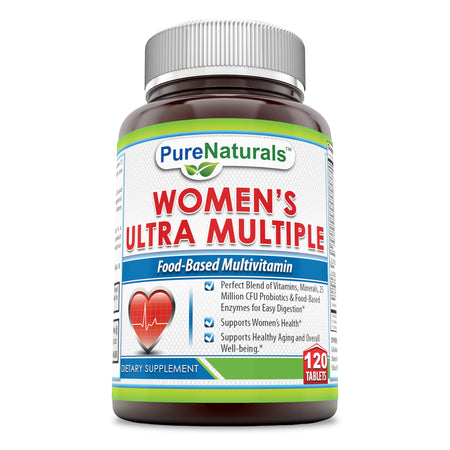 Pure Naturals Women's Multiple 120 Tablets