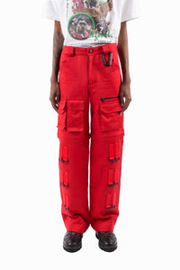 CARPENTER PANTS (RED)